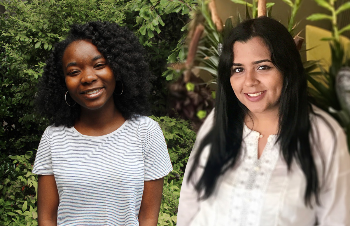 Assata & Wamia - Honors College Changemaker Award Recipients