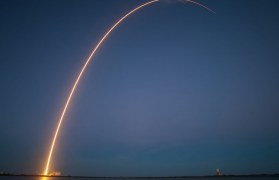 Photo of a rocket launch by BTN.com